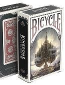 Bicycle Kingdoms Playing Cards (Red)