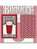 Bicycle Red Plastic Cup Playing Cards
