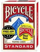 Bicycle Short Deck Deck of cards