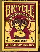 Bicycle Sideshow Freaks Playing Cards