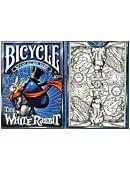 Bicycle White Rabbit Playing Cards