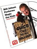 Bill Abbott Performs Magic for Kids DVD or download