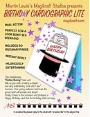 Cardiographic Lite - Birthday Edition magic by Martin Lewis