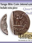 Bite Coin - Quarter Dollar - Premium Gimmicked coin