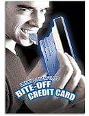 Bite Off Credit Card Trick