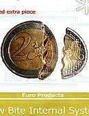 Bite Coin - 2 Euro Cents - Premium Gimmicked coin