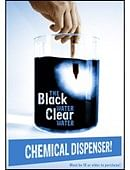 Black Water Clear Water Dispenser Trick