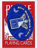 Bicycle Mandolin Back Blank Face Cards Deck of cards