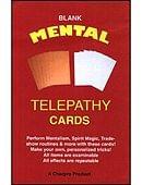 Blank Mental Telepathy Cards Trick