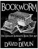 Bookworm - The Ultimate Impromptu Book Test Act Magic download (ebook)