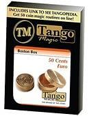 Boston Coin Box (Brass) - 50 Euro Cents Trick