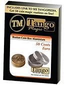 Boston Coin Box (Aluminum) - 50 Euro Cents Trick