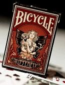 Butterfly Bicycle Deck