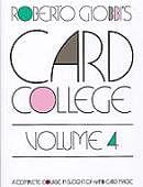 Card College #4 Book