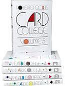 Card College Volumes 1 - 5 Book