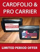 Cardfolio and Pro Carrier combo Accessory