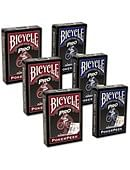 Bicycle Poker Peek Pro Playing Cards (6-Pack) Deck of cards
