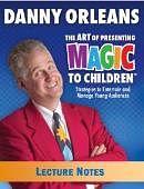Children's Magic Lecture Notes Book