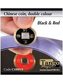 Chinese Coin  Black & Red Trick