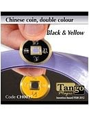 Chinese Coin  Black & Yellow Trick