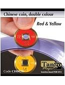 Chinese Coin  Red & Yellow Trick