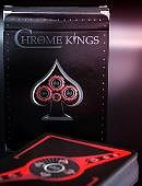 Chrome Kings Playing Cards (Players Red Edition) Deck of cards