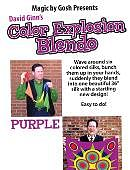 36in Color Explosion Blendo Set (Purple) Trick