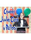 Comedy Card In Balloon Trick