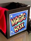 Comedy Magic Silk Box Trick