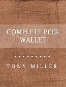 Complete Peek Wallet