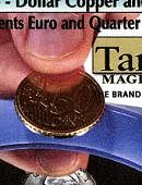 Copper/Silver - 50 Euro Cents/US Quarter Gimmicked coin
