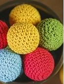 Crochet Ball Set by TCC (4-Pack | Multiple Colors Available) Accessory
