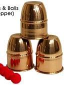 Cups & Balls (Copper) Accessory