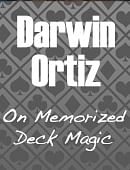 Darwin Ortiz on the Memorized Deck Magic download (video)