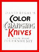 David Regal's Color Changing Knives Trick