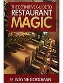 Definitive Guide to Restaurant Magic Book