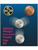 Deluxe Edition Trinity Coin Set magic by Johnny Wong