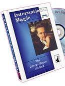 Derren Brown Lecture DVD