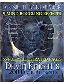 Devin Knight Lecture Notes Book