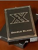 Double Black Playing Cards (Unbranded)
