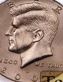 Double Sided - Half Dollar (heads) Gimmicked coin