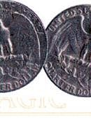 Double Sided - Quarter Dollar (tails) Gimmicked coin