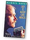 Easy to Master Card Miracles Volume 3 DVD or download