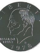 Eisenhower Palming Coin (Dollar)