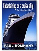 Entertaining on Cruise Ships Book