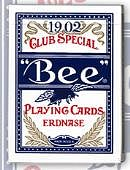 Erdnase 1902 Bee Playing Cards - Blue Smith No. 2 Back (Cambric Finish)