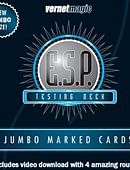 Jumbo Marked E.S.P. Cards (Vernet) Trick