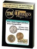 Euro-Dollar Silver/Copper/Brass Transposition Trick