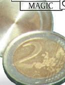 Expanded Shell - 2 Euros Gimmicked coin