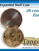Expanded Shell - 20 Euro Cent Gimmicked coin